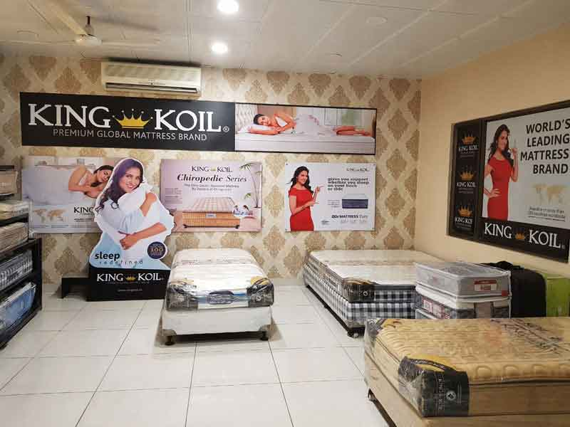 King Koil Mattress  In Bhola Nath Nagar
